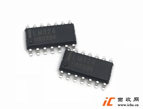 回收LM324 LM324DR 贴片 SOP14 运算放大器IC芯片