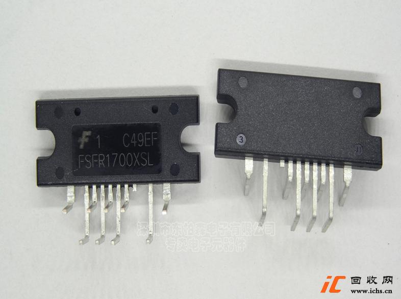 回收进口FSFR1700XSL 90度弯脚 液晶电源IC芯片