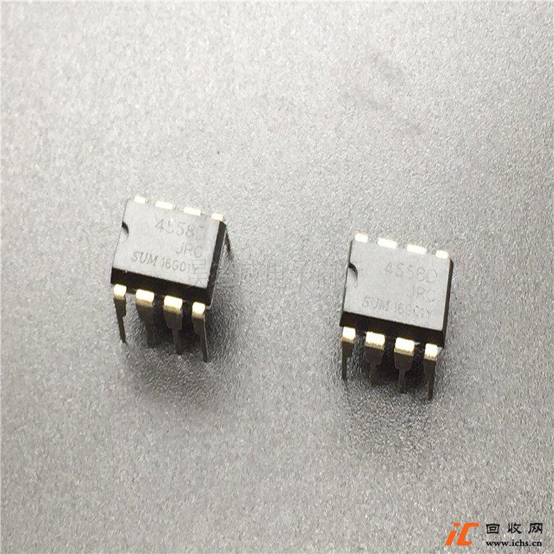 回收4558 SUMJRC4558D 音频IC,麦克风IC,音响IC