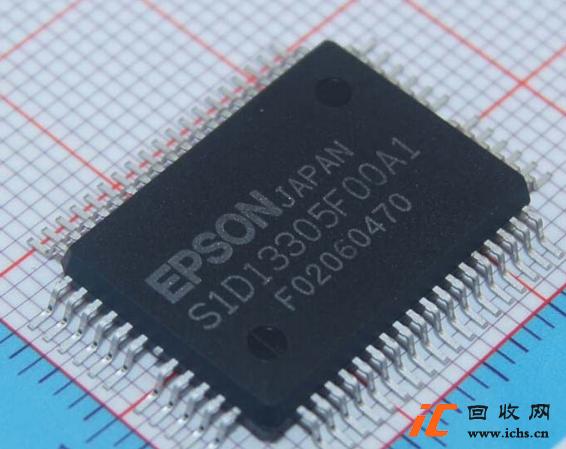 回收S1D13305 S1D13305F00A1 贴片QFP-60 液晶显示控制驱动芯片IC
