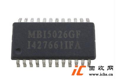 回收MBI5026 MBI5026GF 贴片SOP24 LED显示屏驱动芯片