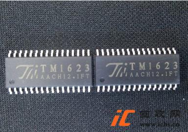 回收 TM1623 SOP-32 LED面板显示驱动IC芯片
