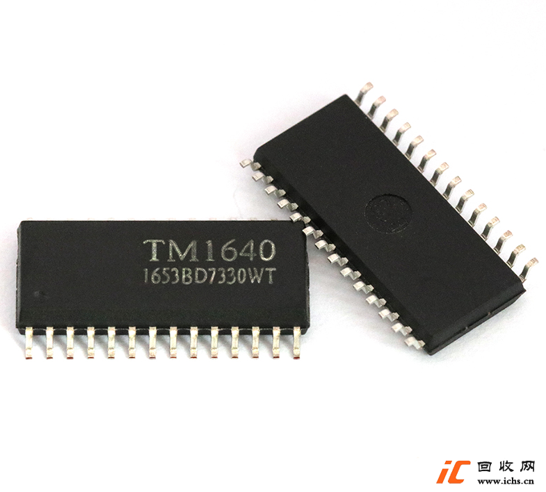 回收 TM1640 LED数码管显示驱动IC SOP-28