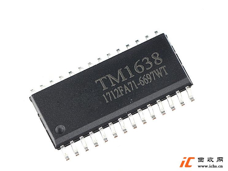 回收 TM1638 发光二极管显示器 驱动控制专用IC SOP-28