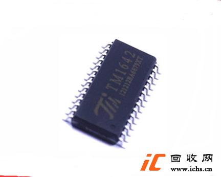 回收TM1642 SOP28 数码管LED显示IC 驱动芯片