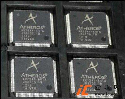 回收AR7241-AH1A QFP128 路由芯片通信IC