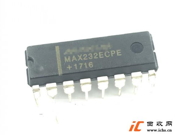 回收MAX232 MAX232ECPE 直插DIP16 RS232收发器IC 串口通信转换IC