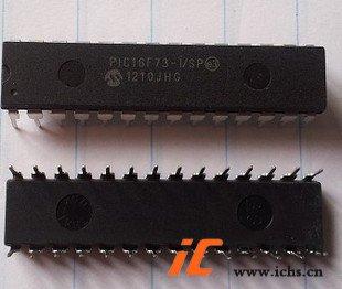 回收PIC16F73-I/SP 直插DIP28 单片机IC芯片