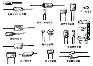 常用的几种电子元器件的作用